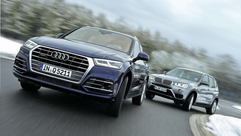 Pojedynek Multi Kulti Audi Q5 Kontra Bmw X3