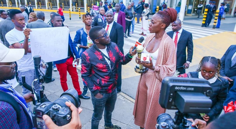 Akothee speaks for the first time, days after collapsing on Stage