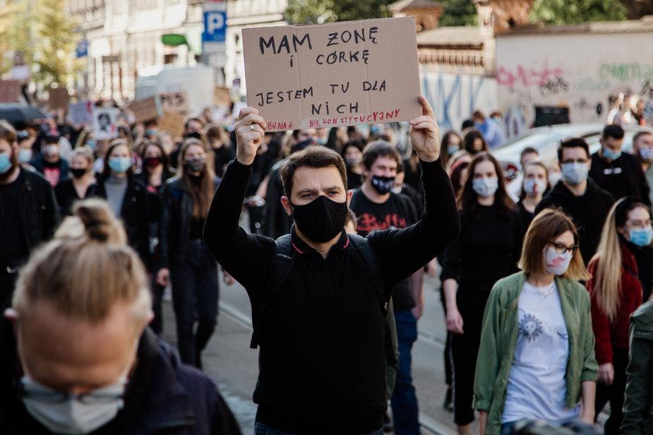 Strajk w Krakowie