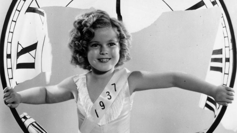 Shirley Temple w 1936
