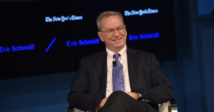 Eric Schmidt, prezes wykonawczy Alphabet