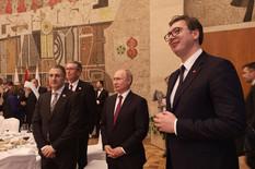 Evo kako je izgledao srpski ručak za Putina i šta je PEVAO DAČIĆ