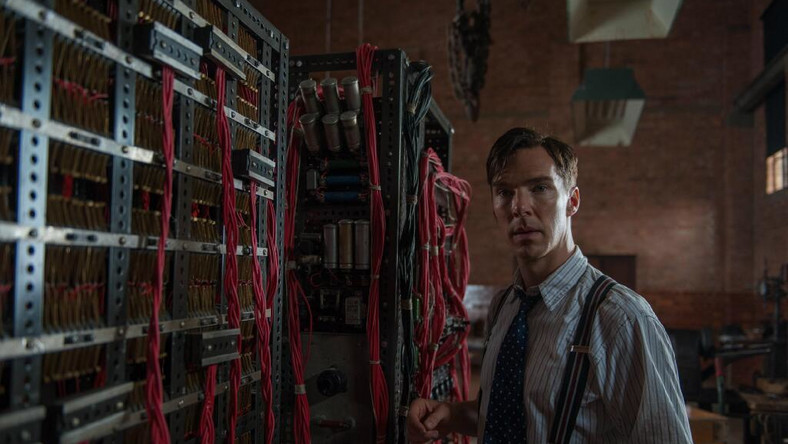 "Benedict Cumberbatch w filmie ""The Imitation Game"""