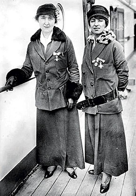 Nekoliko medicinskih sestara iz Norveške pomagalo je srpskoj vojsci tokom rata