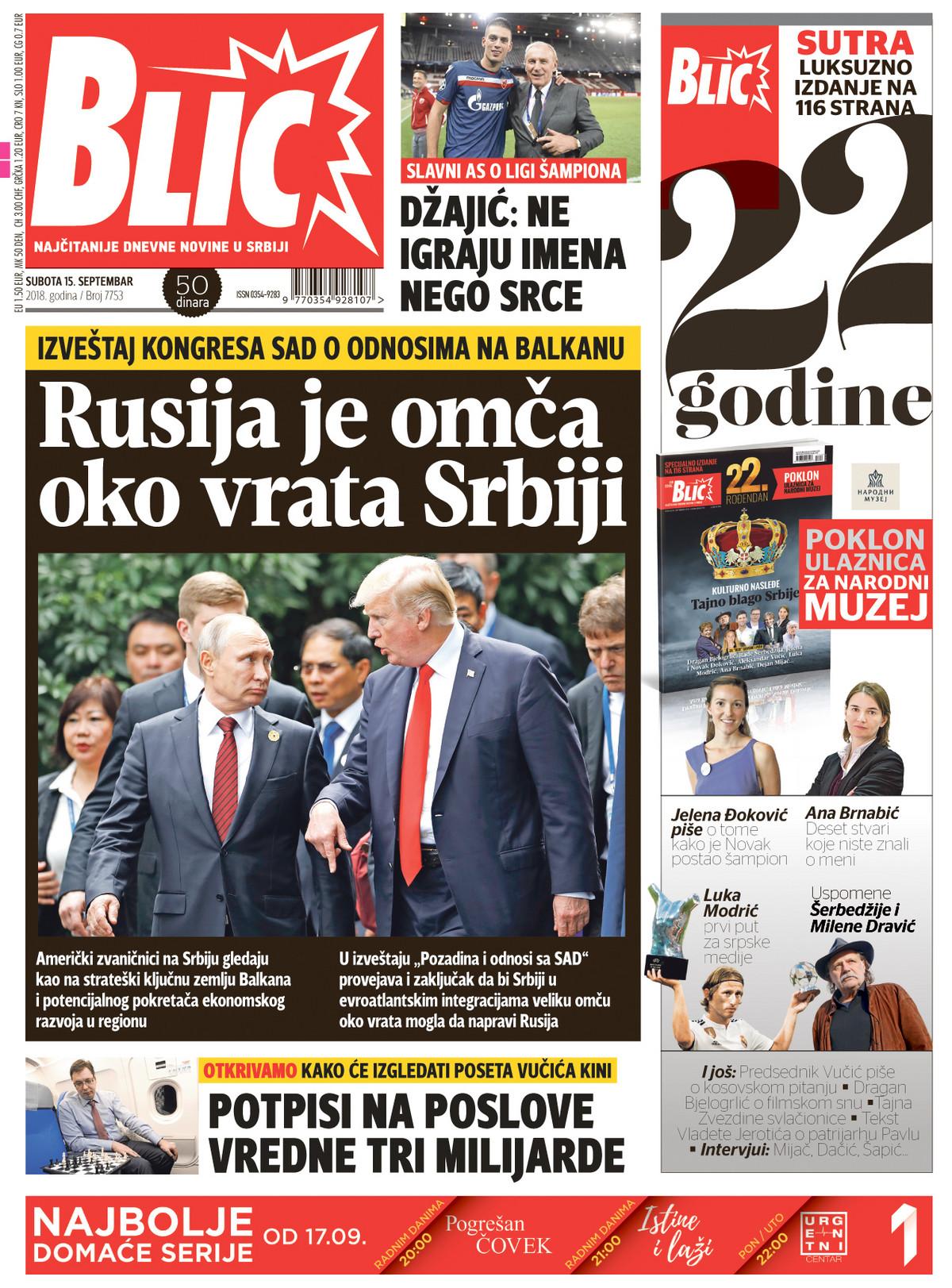 Naslovna za 15.09.