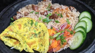 DIY Recipes: How to make Toolu Beef Angwa Mu (Salted Cured Beef Oil Rice)