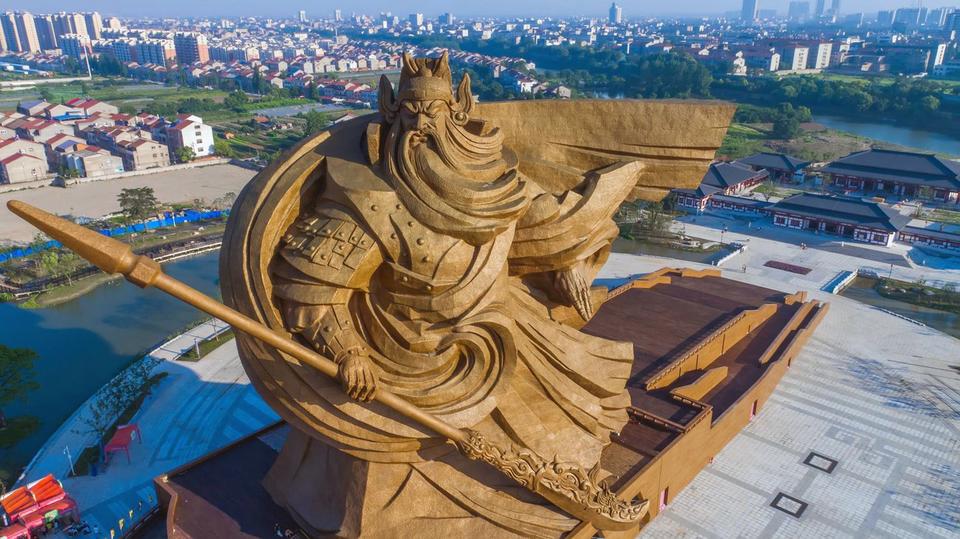 Pomnik generała Guan Yu w Chinach