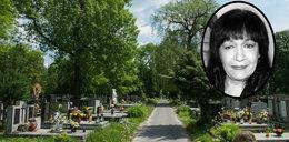 Tu zostanie pochowana Ewa Dymarczyk. Spocznie obok przyjaciół