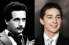 dvojnici Albert Einstein Shia LaBeouf foto Profimedia