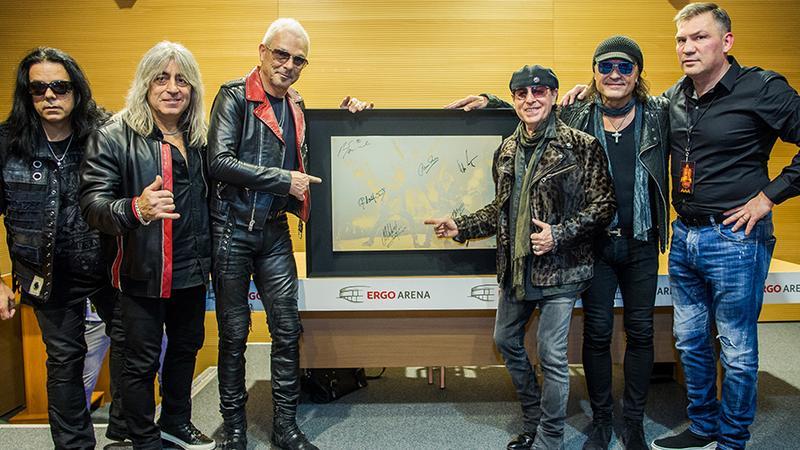 Scorpions i Dariusz Michalczewski