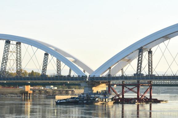 Novi Žeželjev most sutra se otvara i za drumski saobraćaj