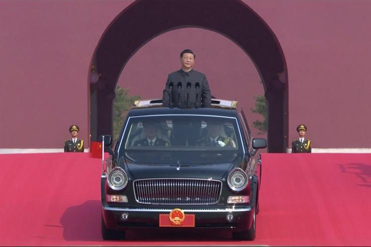 Kina, vojna parada
