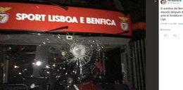 Skandal w Portugalii. Autokar Benfiki obrzucony kamieniami. Ranni piłkarze