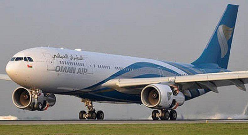 File Image of Oman Air Aeroplane