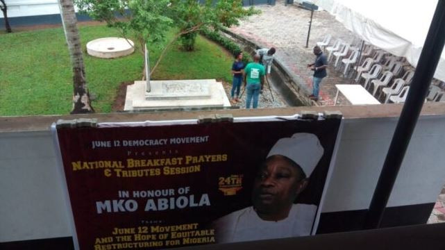 Abiola's House in Ikeja was attacked by armed robbers on Wednesday, September 2, 2020 (TheCABLE)