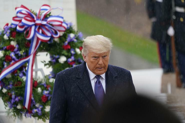 Donald Tramp odao poštu palim borcima u Prvom svetskom ratu