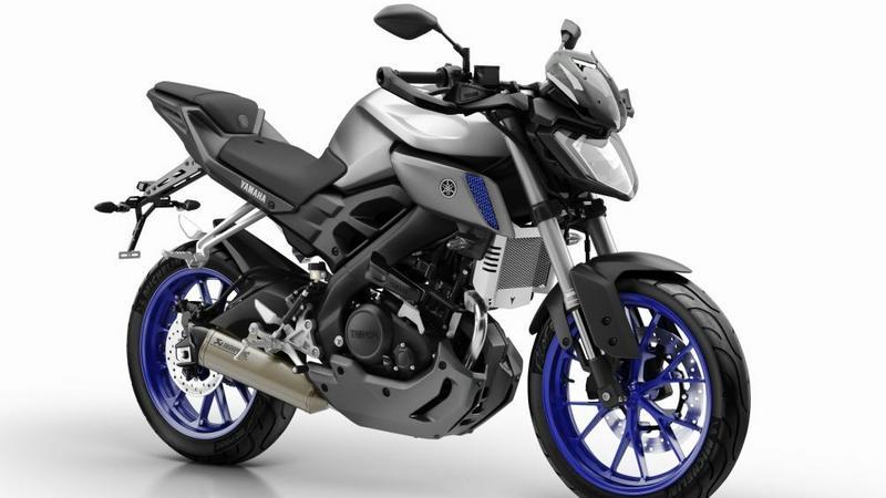 Yamaha MT-125 to jeden z motocykli, który kupimy z kaskiem w prezencie