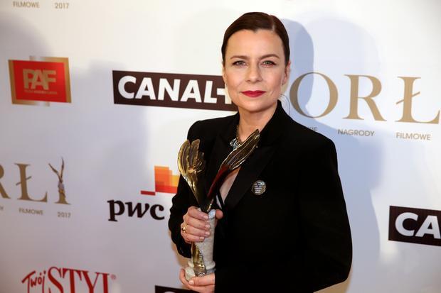 """Agata Kulesza nagrodzona w kategorii """"Drugoplanowa rola żeńska"""" za rolę w filmie """"Jestem mordercą"""""""