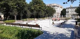 Park Moniuszki w Łodzi do remontu. Radiowóz zniszczył fontannę