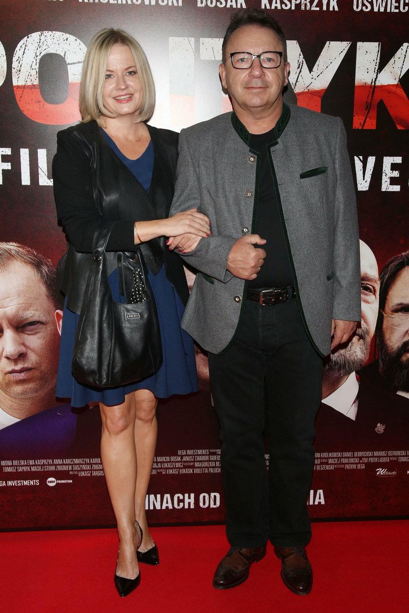 Zbigniew Zamachowski i Dagmara Marjańska