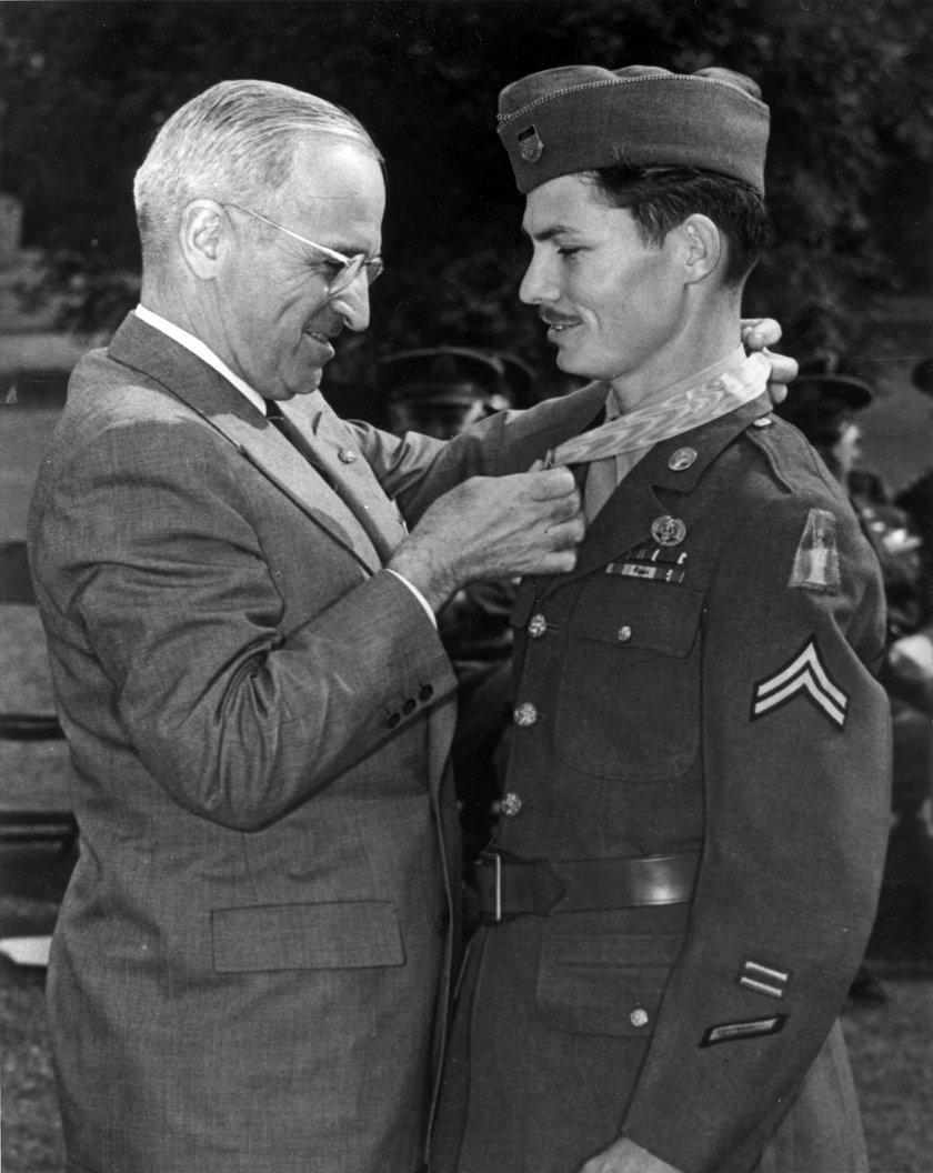 Desmond Doss i prezydent Truman