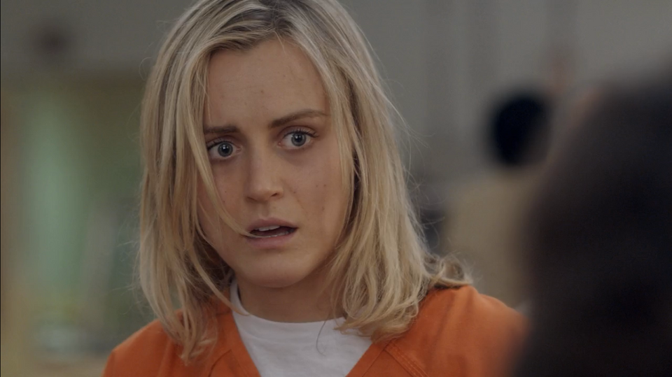 "Taylor Schilling w serialu ""Orange is the New Black"""