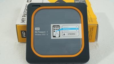 Externe SSD im Test: WD My Passport Wireless SSD