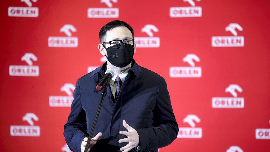 Prezez PKN Orlen Daniel Obajtek skomentował doniesienia o zatrzymaniu przejęcia Polska Press przez Orlen