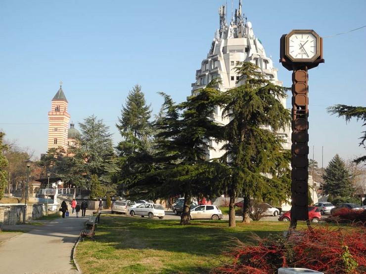 PARAĆIN- centar grada