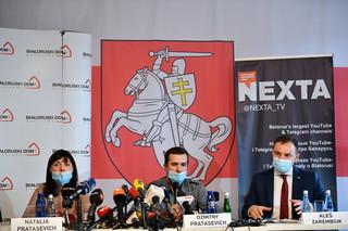 Przydacz spotkał się w Warszawie z rodzicami Ramana Pratasiewicza