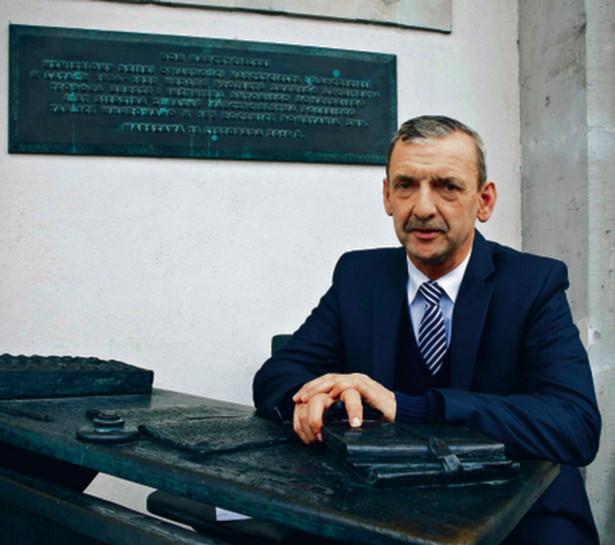 Sławomir Broniarz, prezes Związku Nauczycielstwa Polskiego