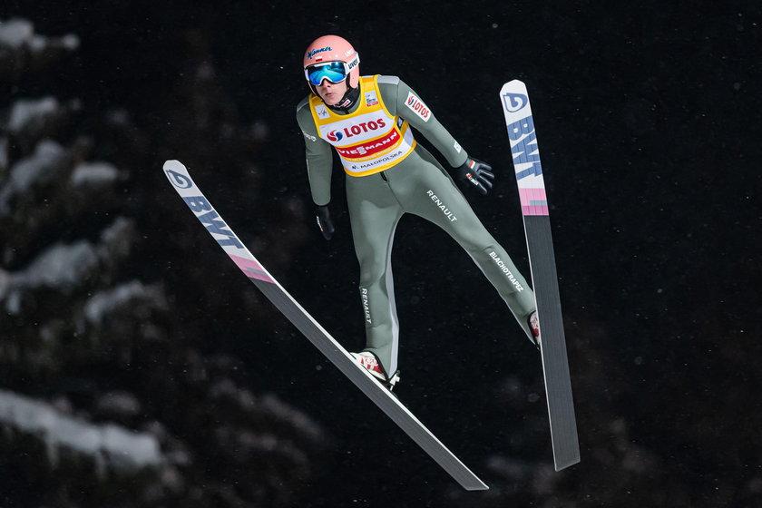 Skoki narciarskie. Puchar Swiata w Zakopanem. Konkurs druzynowy. 16.01.2021