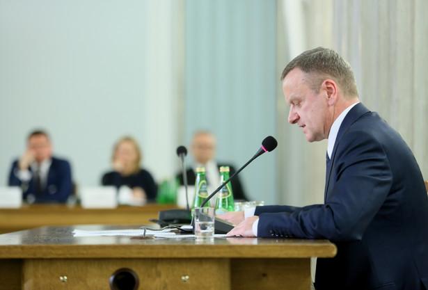 Zastępca dyrektora biura prezydialnego w Prokuraturze Krajowej Ryszard Tłuczkiewicz, PAP/Leszek Szymański