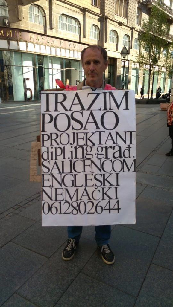 Milan je dobio razne ponude za posao, ali misli da mnoge nisu ozbiljne
