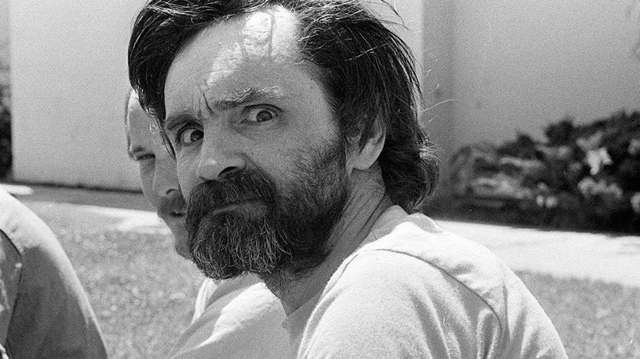 Charles Manson w 1980 r.