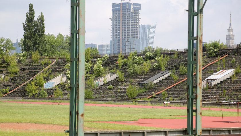 To był jedyny stadion lekkoatletyczny w Warszawie