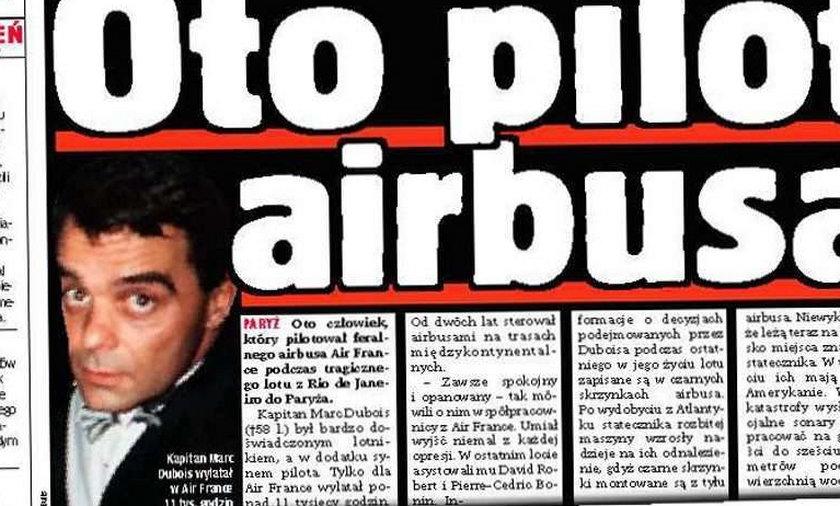 To on pilotował airbusa