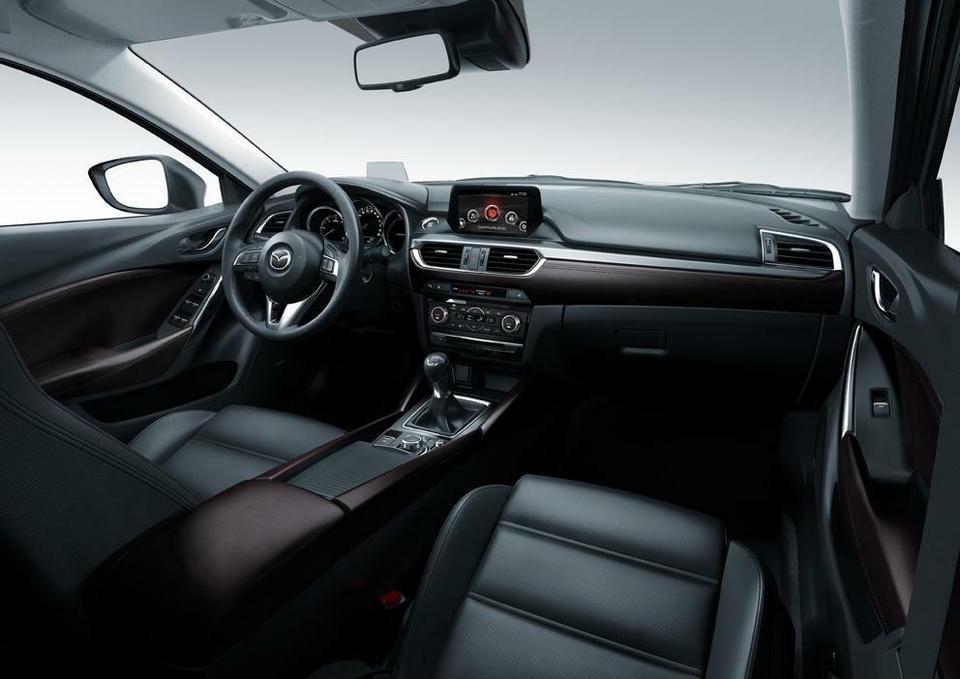 Topnotch Odświeżona Mazda6 na rok 2015 - Forbes PT76