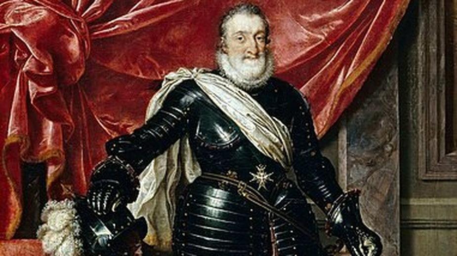 Portret Henryka IV - domena publiczna