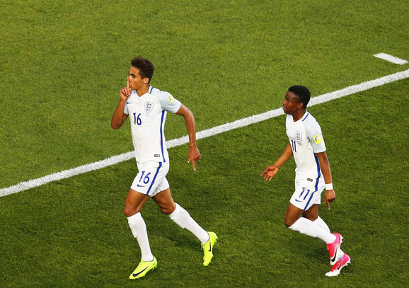 Dominik Kalver-Levin slavi gol u finalu Mundijalita