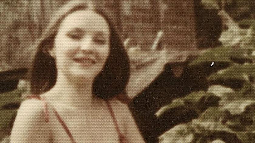 Jolanta Kwaśniewska w młodości