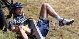 Winę za kraksy na Tourze ponosi... Sarkozy