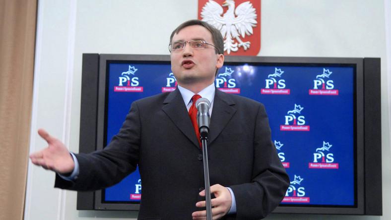 Atak na Patrycję Kotecką to atak na mnie - mówi Zbigniew Ziobro.
