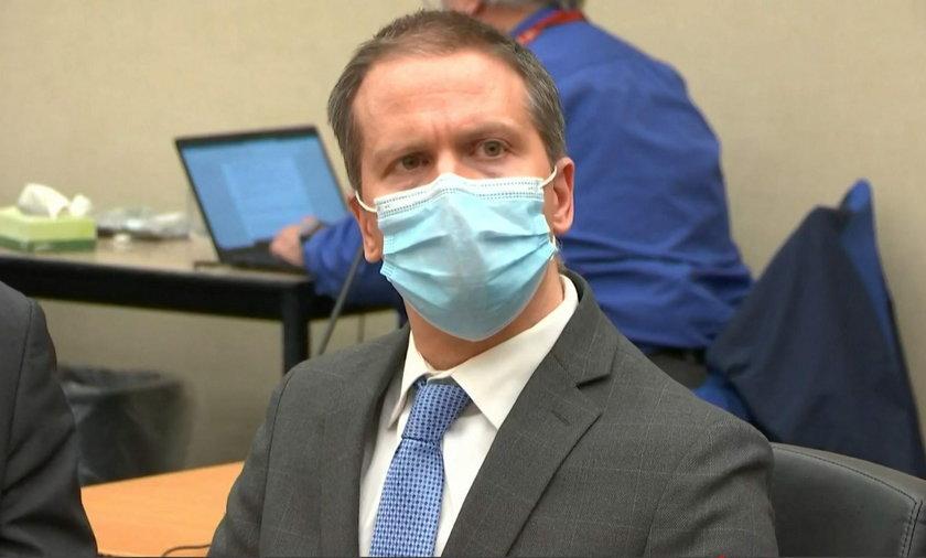 Zabójcy Georga Floyda grozi 30 lat za kratami. Ma prośbę do sędziego.