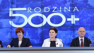 Rząd podsumowuje trzy miesiące programu 500 plus. Rafalska: Szacujemy, że wnioski dotyczą ponad 3,5 mln dzieci