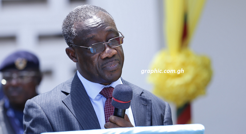 Commissioner-General of the Ghana Revenue Authority (GRA), Emmanuel Kofi Nti