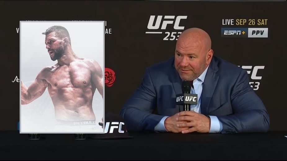 Jesteśmy bardzo podekscytowani, zobaczymy co potrafi – White o przejściu Mateusza Gamrota do UFC