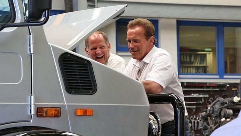 Unimog Arnolda Schwarzeneggera