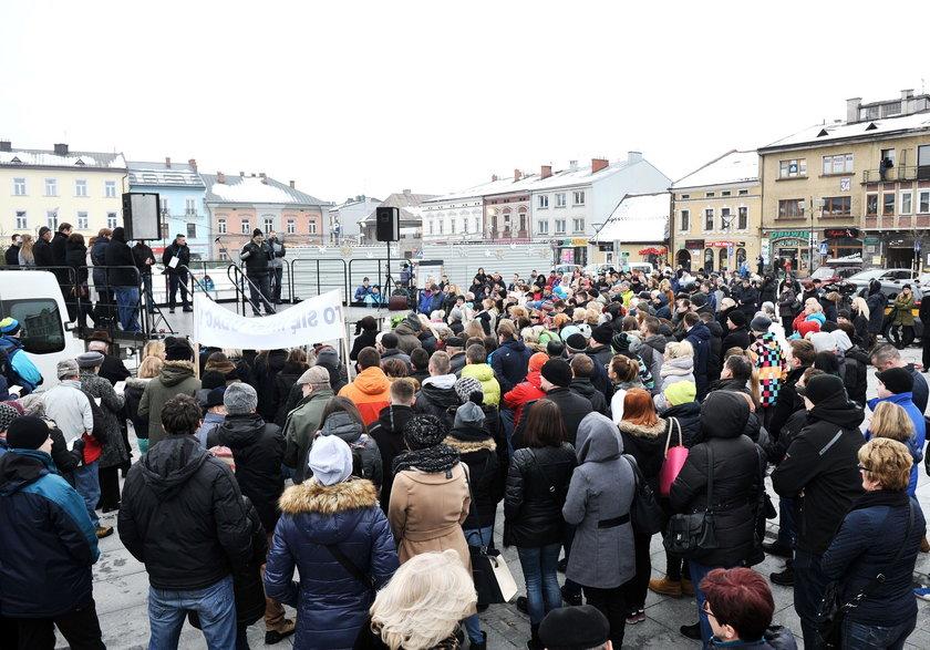 Protest w Nowym Targu