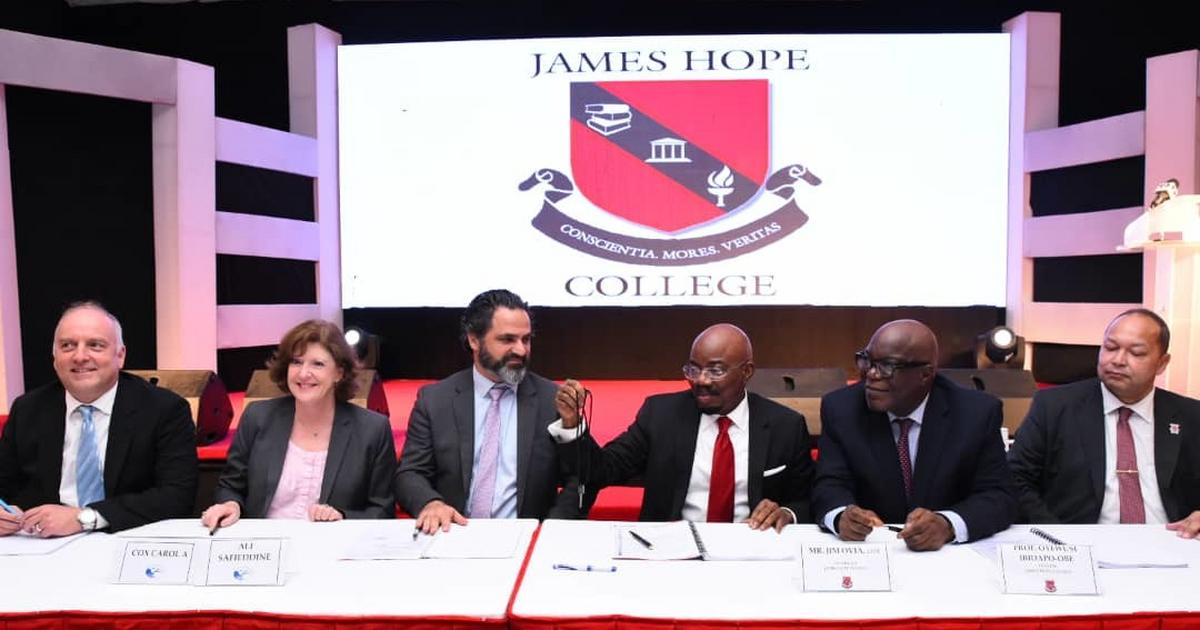 James Hope College acquires American International School Lagos property, offers full scholarship to 40% of students - Pulse Nigeria